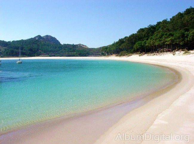billete a Islas Cíes en playa de rodas