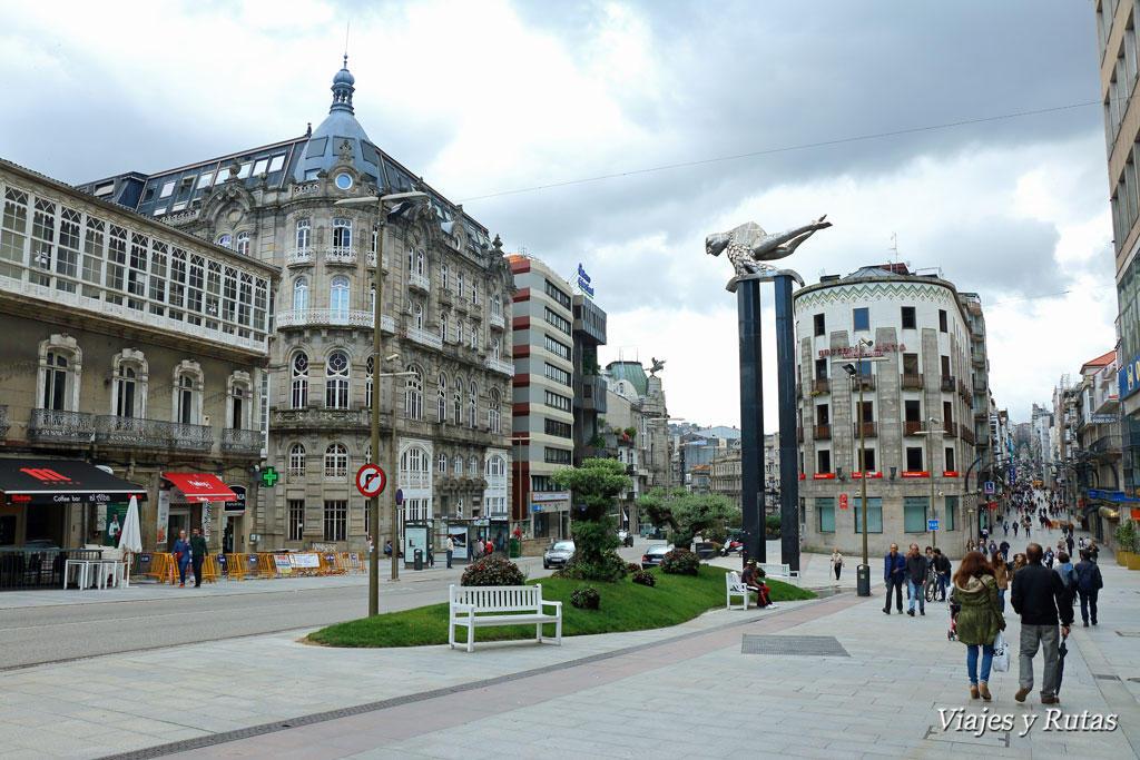 Plaza de la Puerta del Sol y calle Príncipe
