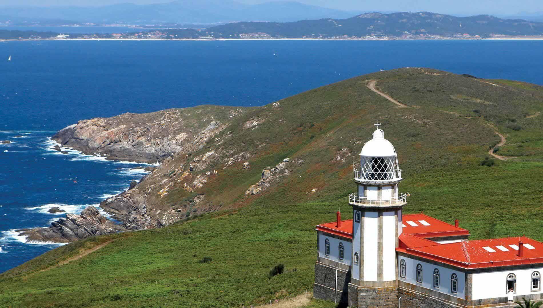 Isla De Ons Mapa.Mar De Ons Visit Cies Islands San Simon Cangas