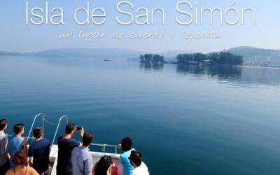 De excursión con toda la clase a la Isla de San Simón