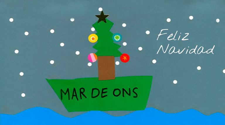 Dibujo ganador 2017 concurso navidad Mar de Ons