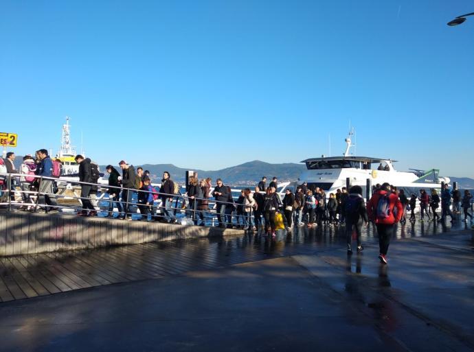 Visita la Isla de Ons en invierno 2019