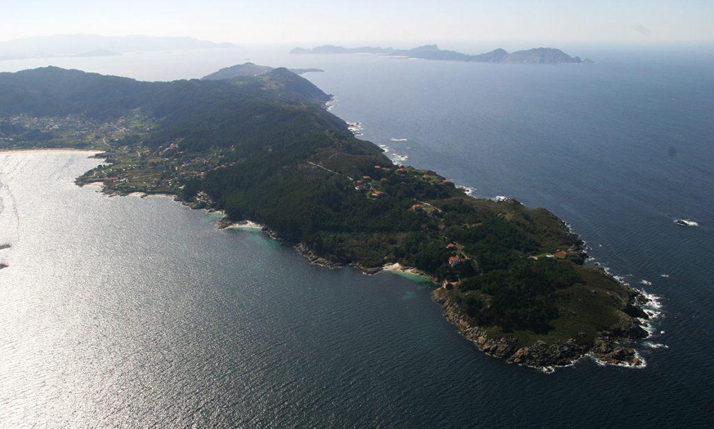 Planes por la ría de Pontevedra y la de Vigo_ Punta Couso.