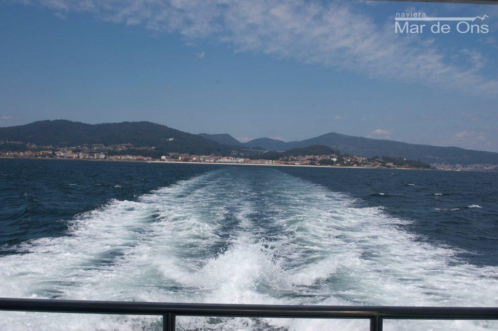 Travesía a las Islas Cíes de Vigo