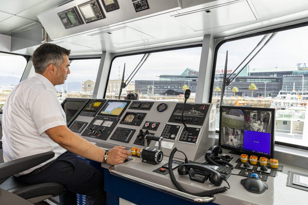 Mar de Cíes, el nuevo barco de Mar de Ons