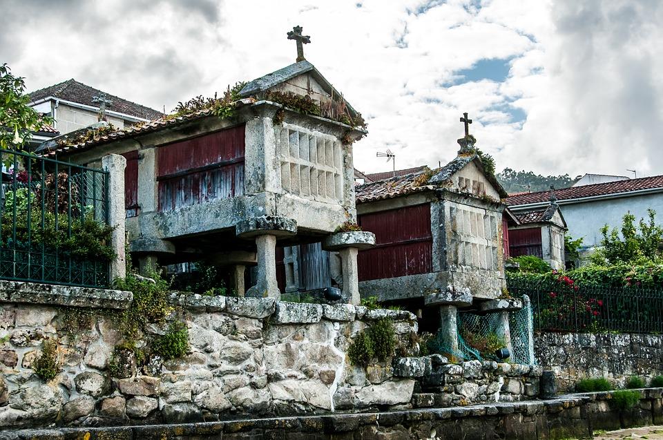 Combarro, pueblo de la Ría de Pontevedra