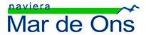 Naviera Mar de Ons Logotipo /Naviera Mar de Ons Imagotipo