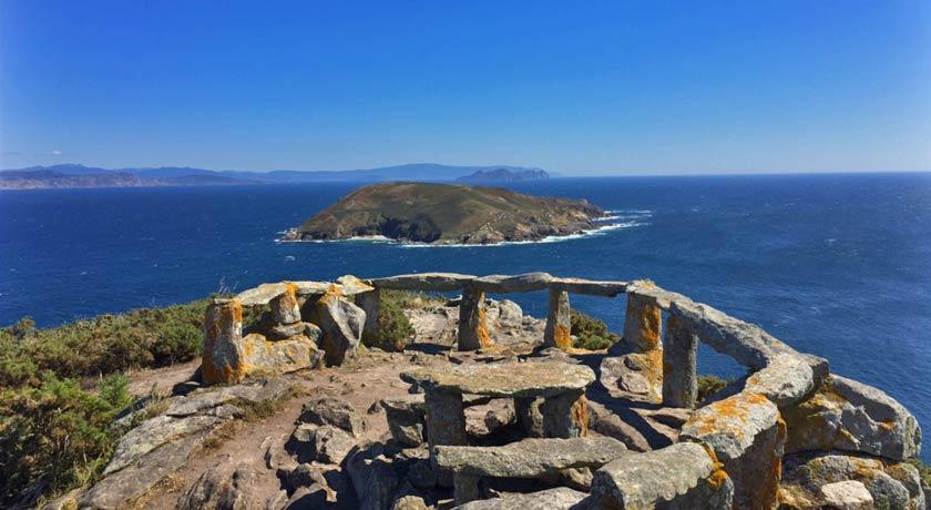 vente a la isla de ons en galicia