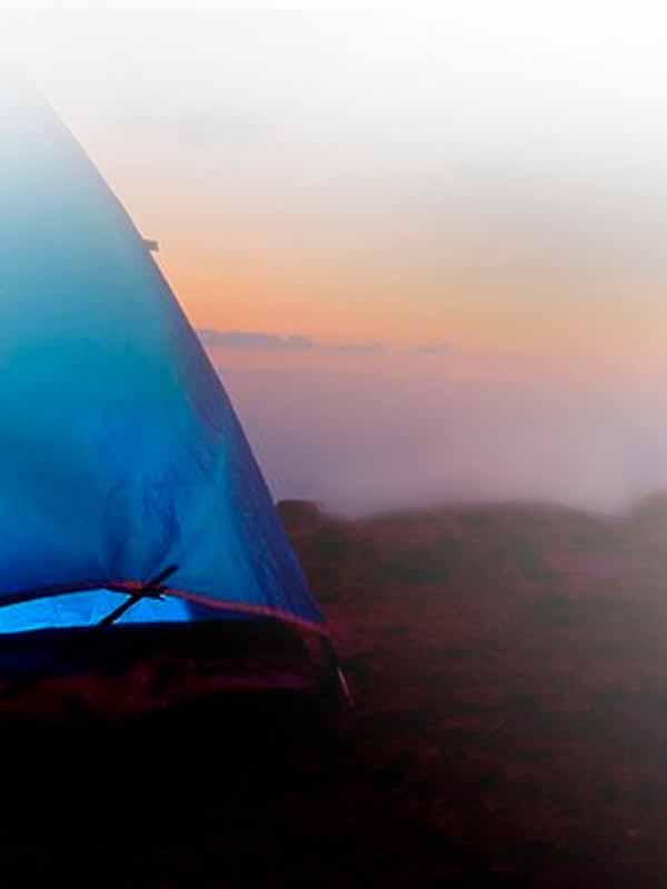 Camping en Islas Cíes