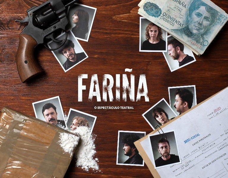 see the play of Fariña in Cangas