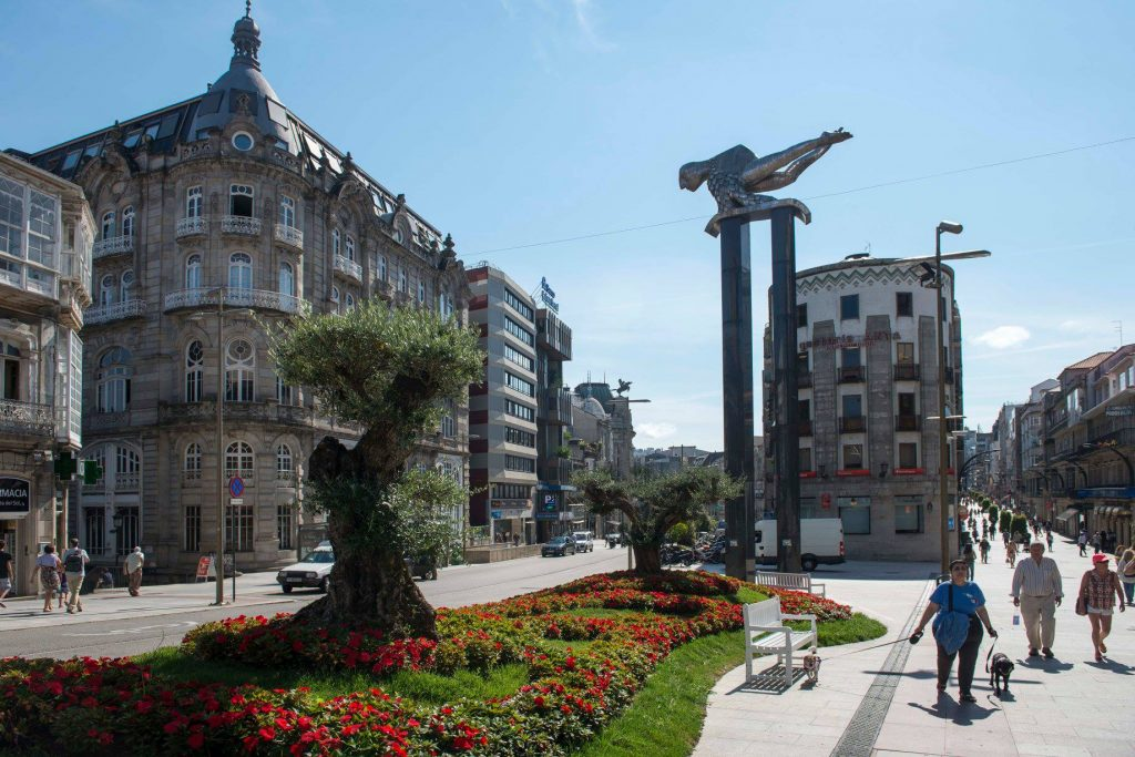 Vigo in Galicia is the city that you have to see