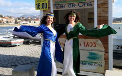 Mar de Ons realizará un servicio especial para la fiesta de la Arribada de Baiona