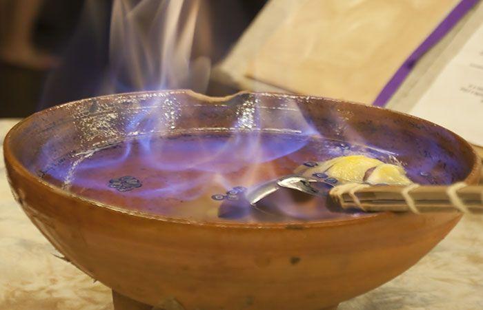 prueba la queimada en a la ria de vigo