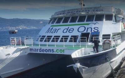 La línea regular marítima Cangas – Vigo modifica sus horarios