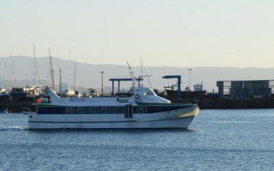 La línea regular marítima de pasajeros Cangas-Vigo amplía sus horarios en la fase 2 de la desescalada