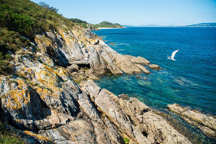 conoce la isla de ons en galicia