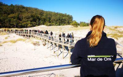NAVIERA MAR DE ONS OFRECERÁ VIAJES A LAS ISLAS CÍES DESDE EL PUERTO DE BAIONA A PARTIR DE ESTE MIÉRCOLES 1 DE JULIO