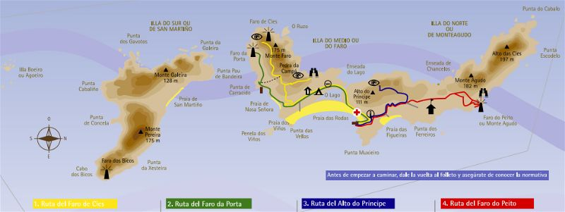 cies islands map