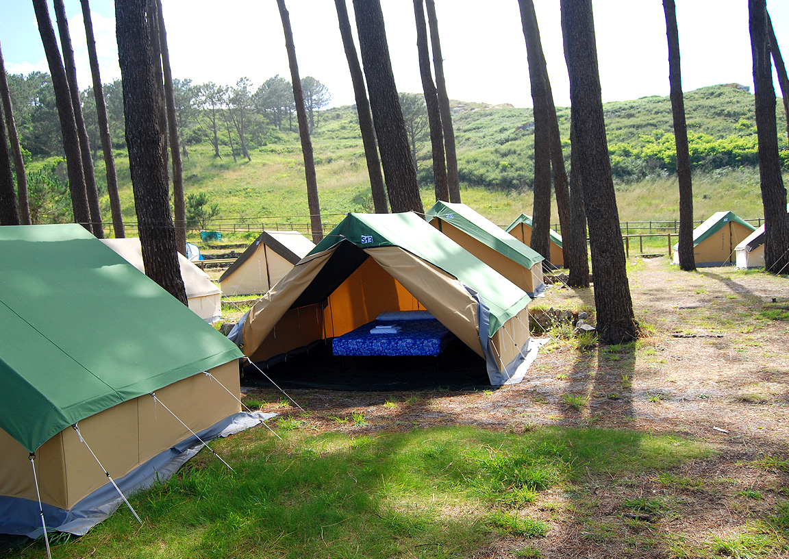 responsible camping in the Cíes islands-3