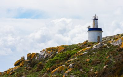 The lighthouses of the Cíes Islands